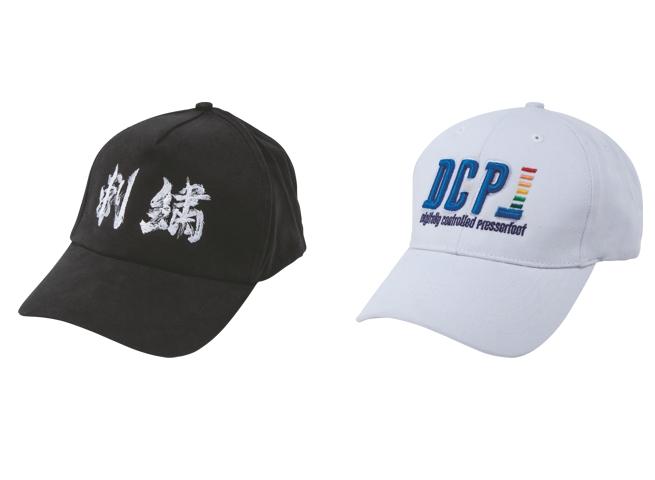 Standardní čepice a Čepice s 3D efektem